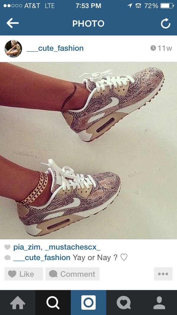 shoes jewels nike air max python for women