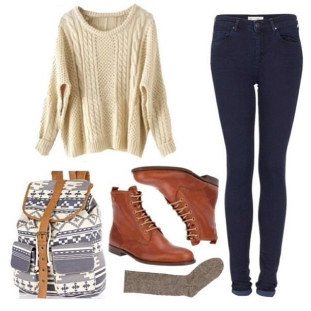 bag shoes boots fall outfits winter outfits fall outfits jeans back to school beige