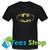 Batman Logo Vintage T Shirt