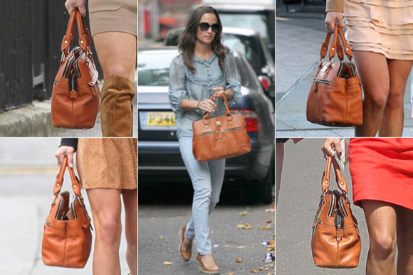 pippa middleton bag modalu brown bag