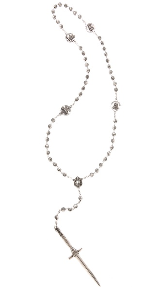 Pamela Love Dagger Rosary Necklace | SHOPBOP