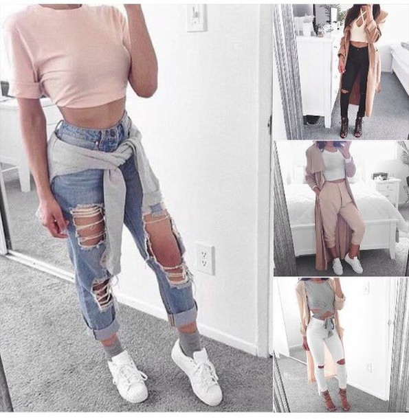 Ripped Jeans - Shop for Ripped Jeans on Wheretoget
