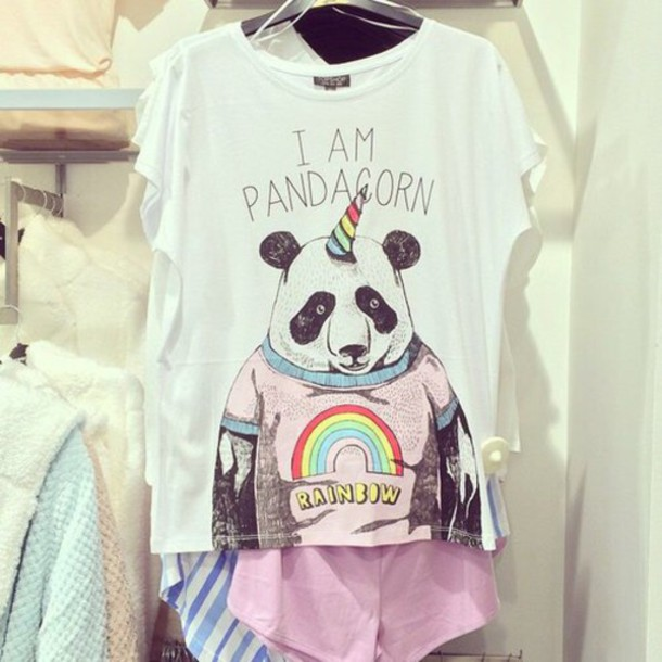 shirt pandacorn