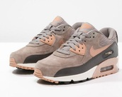 shoes,brown,gold,sneakers,nike air max 90