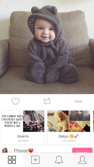 pajamas cute bear onesies onesie bear