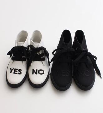 shoes black white shade shades no yes cute kawaii lovely