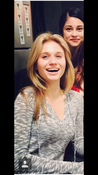 sweater Rita Volk grey sweater