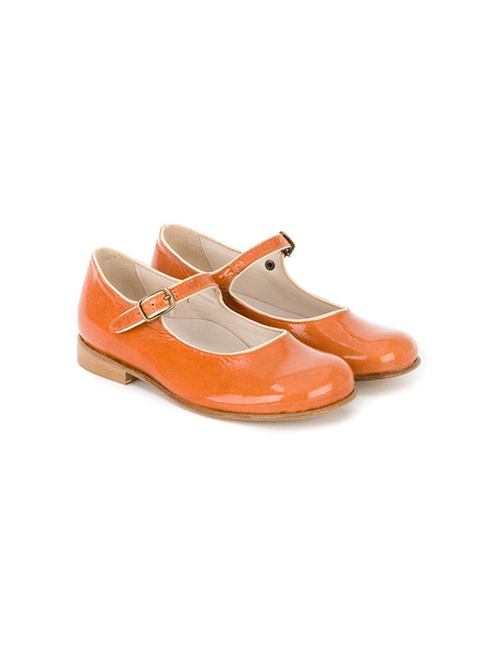 PePe shoes leather yellow orange
