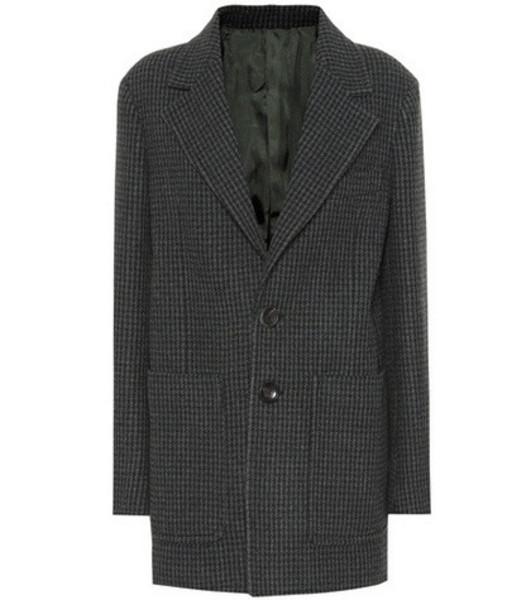 Joseph Marko tweed jacket in green