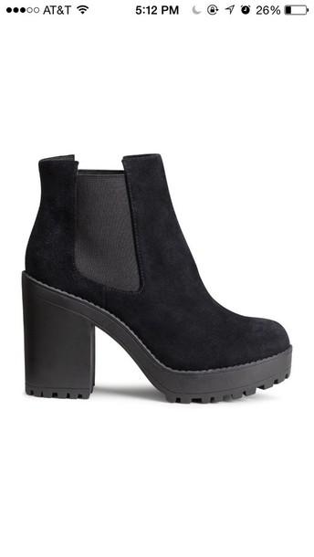 shoes black black heels