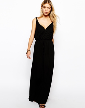 ASOS | ASOS Maxi Dress with Grecian Wrap at ASOS