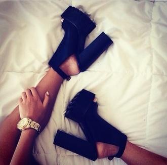shoes black heels high heels