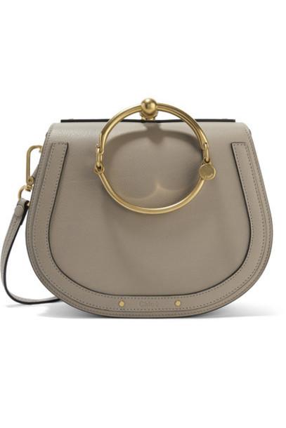 Chloe bag shoulder bag leather suede