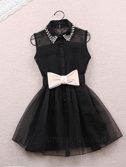 black bows black dresses help a girl out