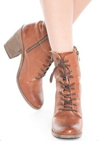 shorts boots heels brown vintage cute fashion style brandy melville lace up shoes