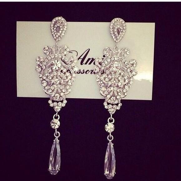 jewels earrings silver silver jewelry