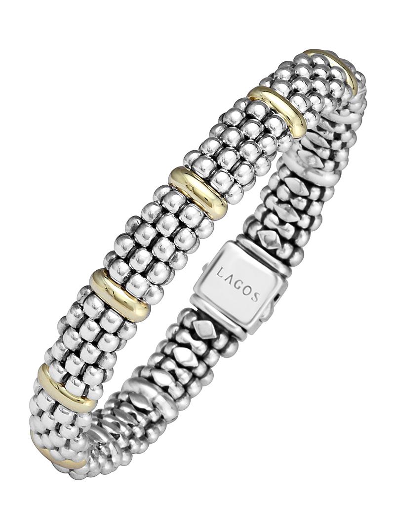 Caviar Beaded Bracelet with Gold | Signature Caviar | LAGOS Jewelry