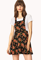 Sweetest Flower Overall Dress | FOREVER21 - 2000126448