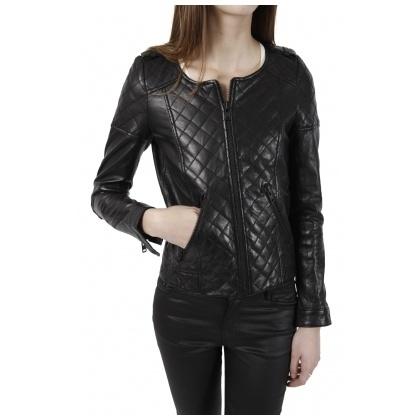 Blouson veste cuir matelass㩠the kooples 2011 neuf 385€