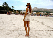 white dress,lace,beach,cover up,white,dress,crochet,top