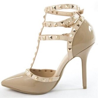 shoes beige beige shoes nude nude shoes heels pumps nude pumps