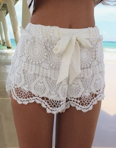 Trisha Lace Shorts