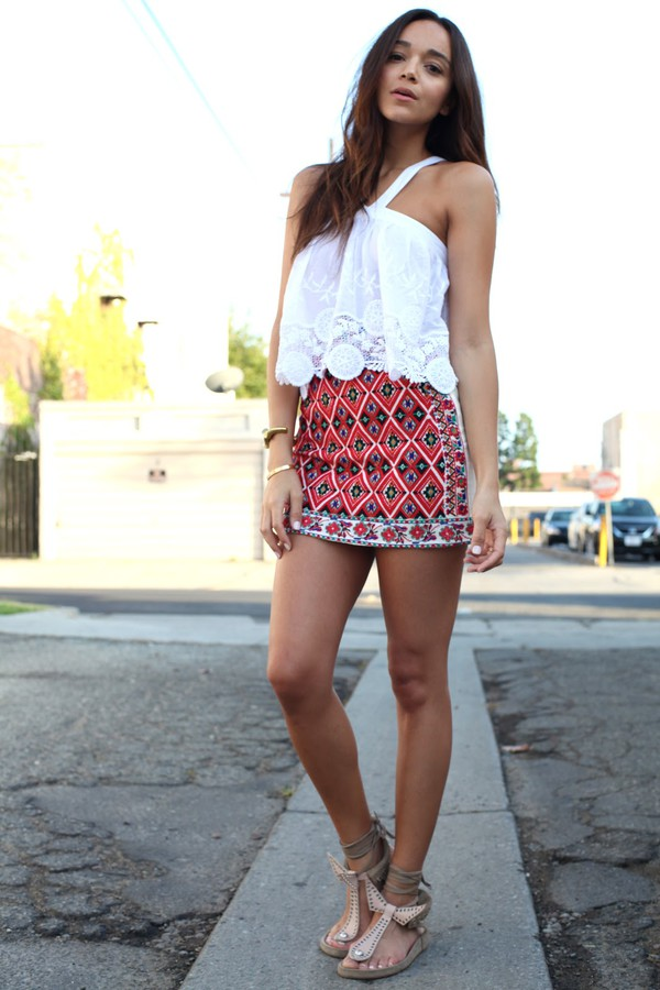 ring my bell skirt shoes top jewels