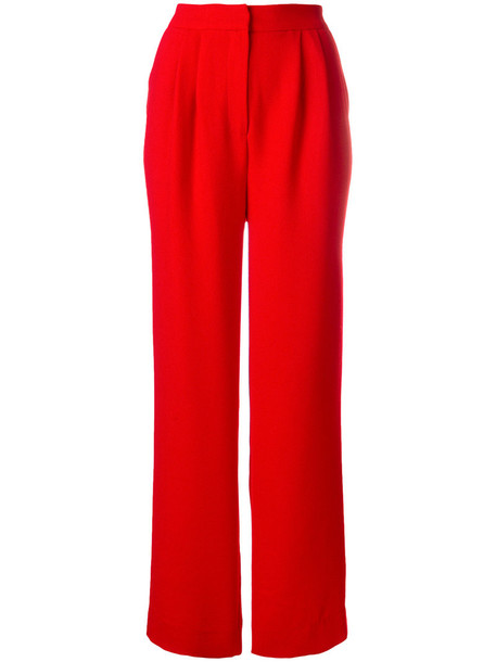 ESSENTIEL ANTWERP high women red pants