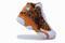 Orange 2013 air jordan 13 leopard print kids shoes for sale 4