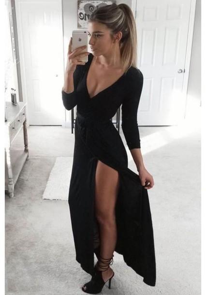 Dress Black Dress Black Maxi Dress Black Maxi Maxi Dress