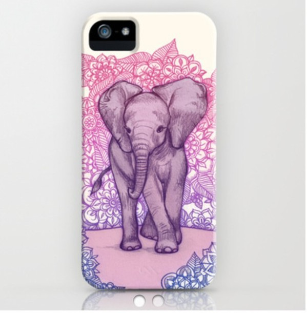 phone cover elephant