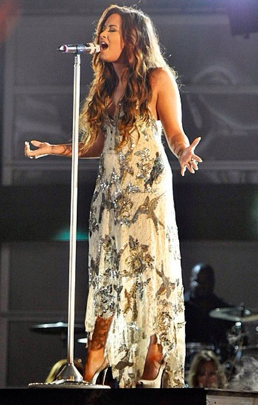 dress demi lovato hummingbird prom dress prom gown demi lovato style