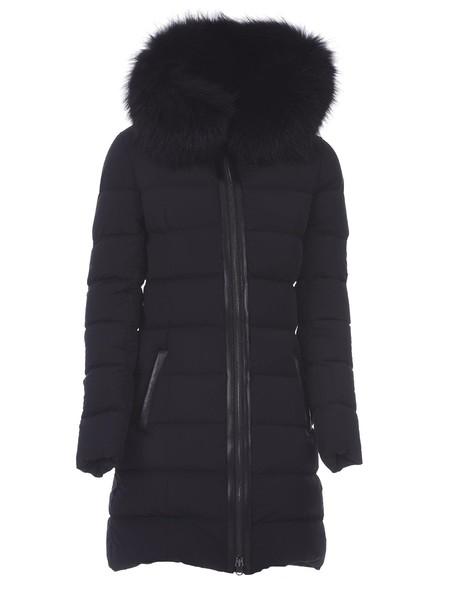 coat fur black