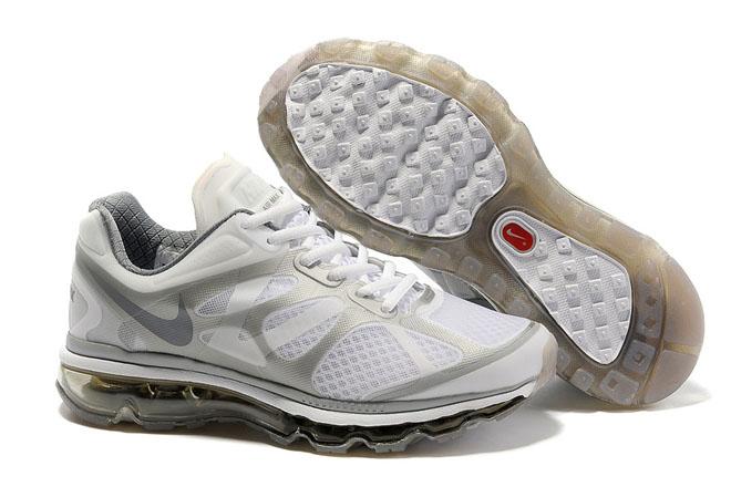 Nike Air Max 2012 White Dark Grey-Womens