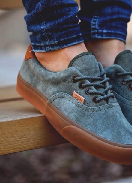 shoes vans vans blue shoes leather jeans vans of the wall vans