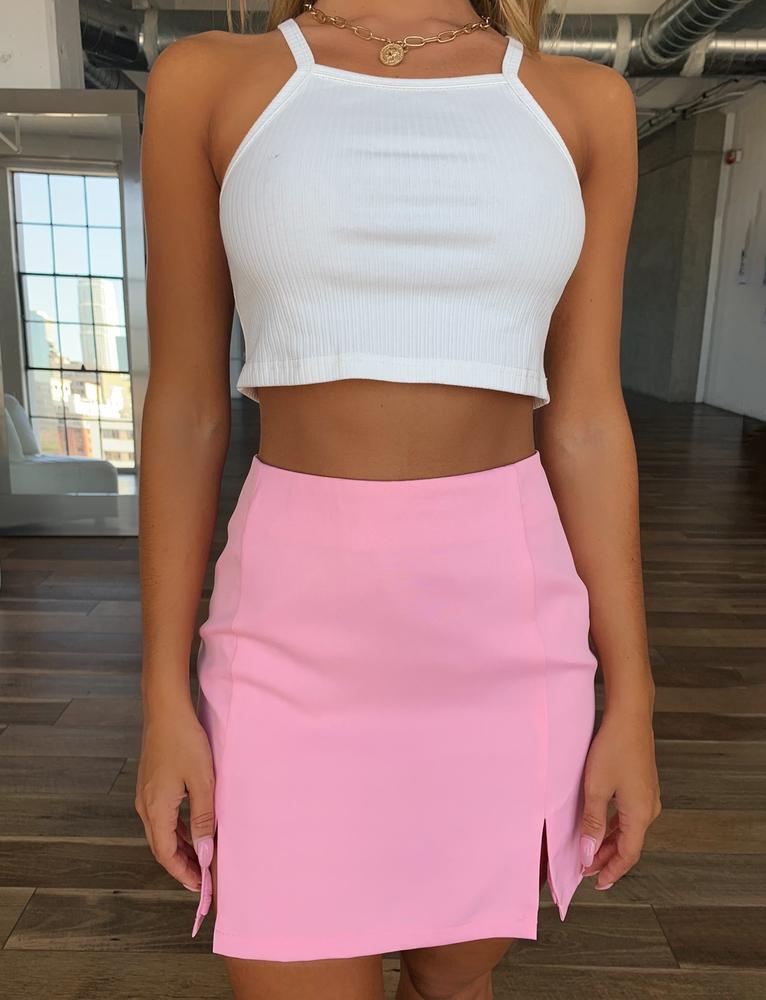 Kimberly Skirt - Pink - XS PINK