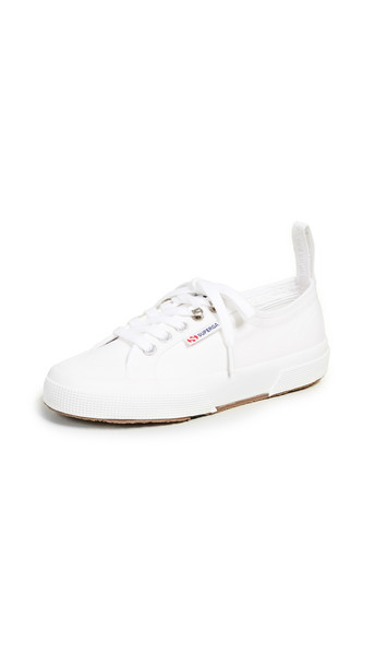 Superga x Alexa Chung 2294 Cothook Lace Up Sneakers in white