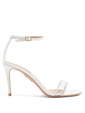 minimalist,sandals,leather sandals,leather,white,shoes