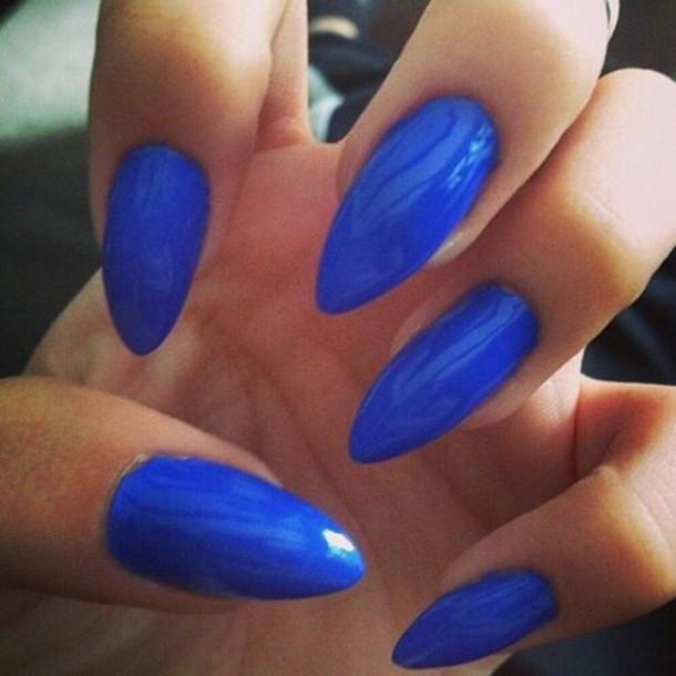 Neon Blue Nail Polish: Nail Polish, Neon Blue, Nails, Neon