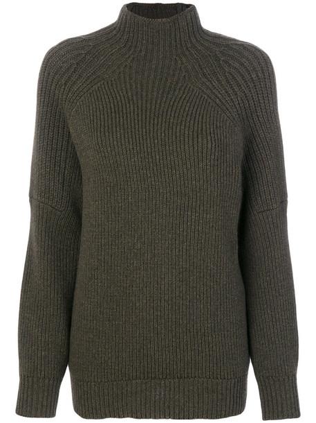 Victoria Beckham jumper women wool green sweater