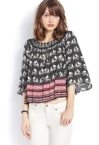 Find basic tees, flowy tops, tunics, crop tops and more | Forever 21 -  2000127423