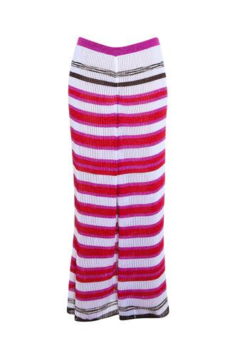 knit pink pants