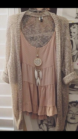 shirt neckalces and dress necklace cardigan sweater dress top dreamcatcher necklace earphones jewels