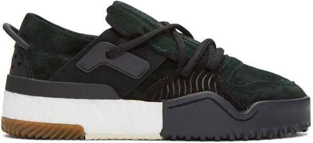 363497db5 ADIDAS ORIGINALS BY ALEXANDER WANG Adidas Originals By Alexander Wang Green Aw  Bball Lo Boost Sneakers