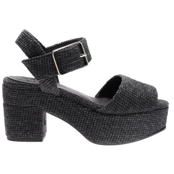CASTAÑER sandals shoes women sandals shoes grey