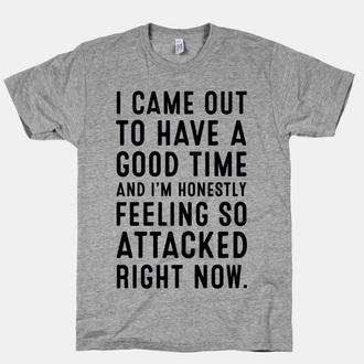 shirt t-shirt quote on it quote on it t-shirt grey t-shirt tumblr shirt twitter