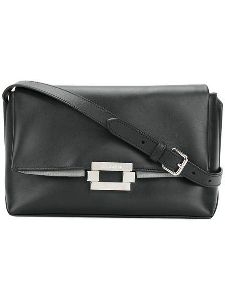 Jil Sander women bag shoulder bag leather black