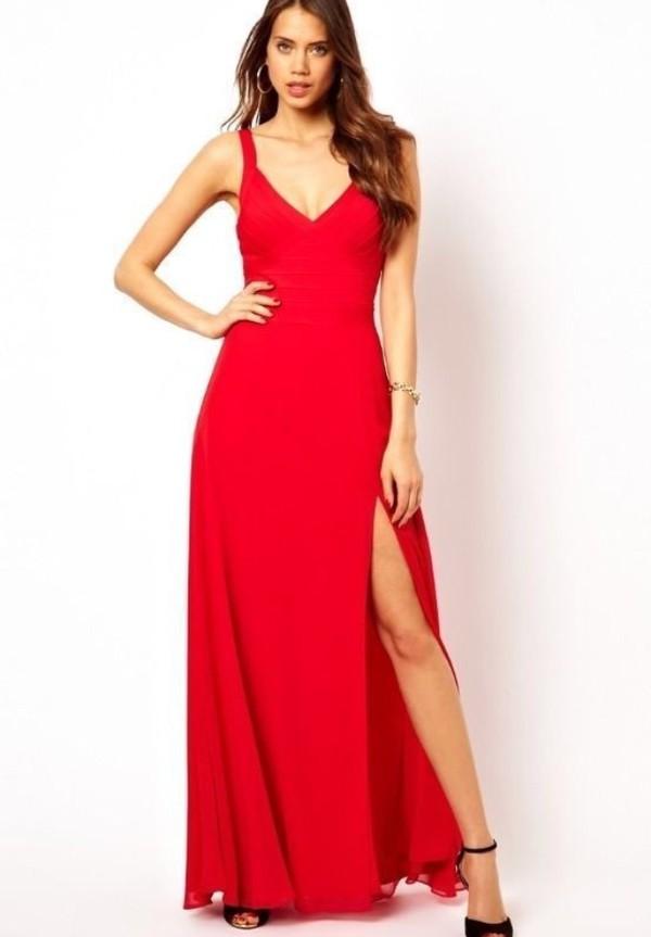 lipsy red bandage maxi dress prom dress