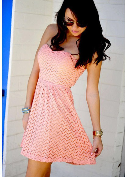 dress cute dress sundress summer dress summer outfits lace dress fashion pepa beach