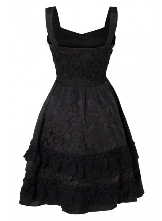 DRESS | Black Rose [Black]